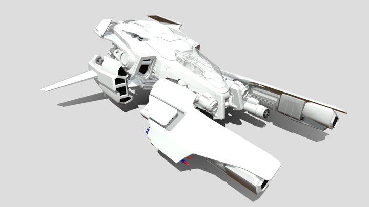 Vulcan hover 3D Model