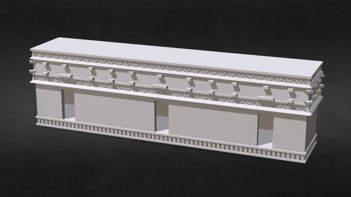 Ichpich, Yucatán 3D Model