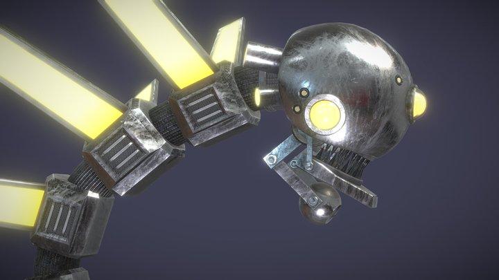 Robot Cobra 3D Model