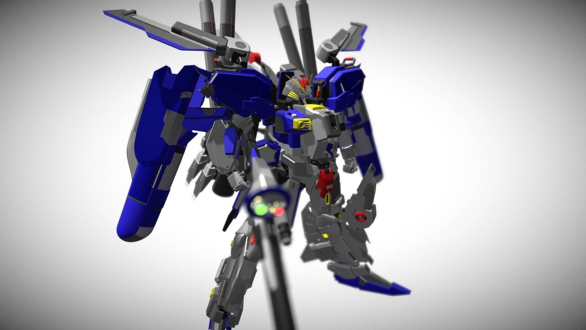 Msa 0011 Ext Ex S Gundam 3d Model By Smartboy Smartboy 24b4e4a Sketchfab