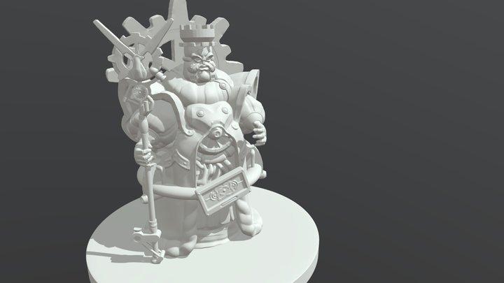 King Mondo V1 3D Model