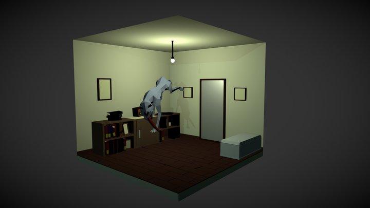 Hounds of Tindalos - Frank Belknap 3D Model