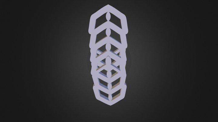 מחבר אריגים 3D Model