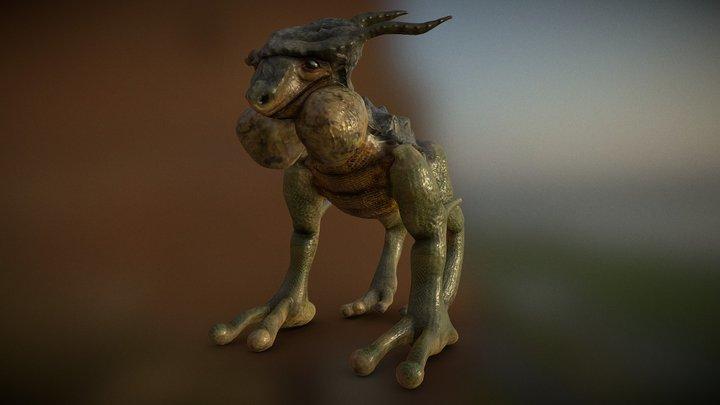 Reptile Creature 3D Model