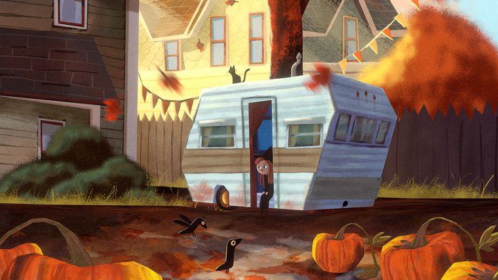 Catrina's Halloween (Izzy Burton's illustration) 3D Model
