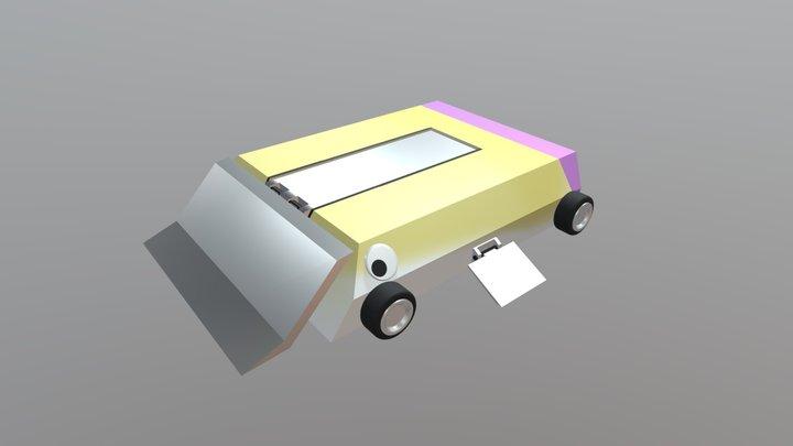 Mecha Pufferfish Prime 3D Model