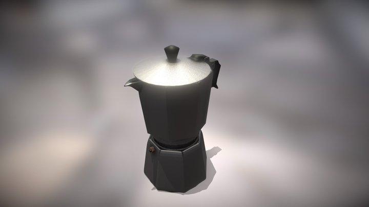 Coffe Maker Old 3D Model