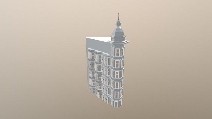 Sentinel Building San Francisco 3D Model