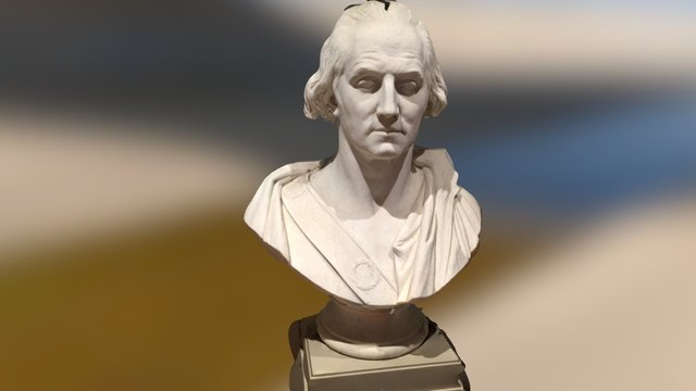 General Bust at Getty 3D Model