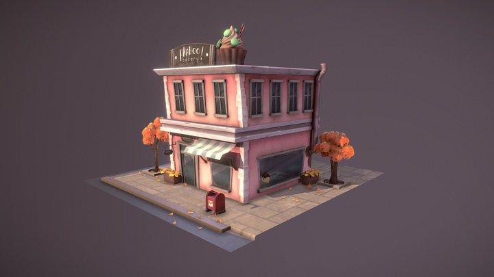 Bakery 3D Model