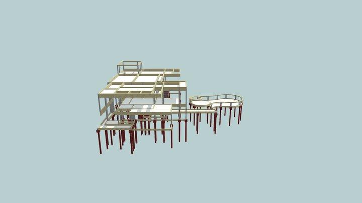 3D Estrutura Fabiana 3D Model