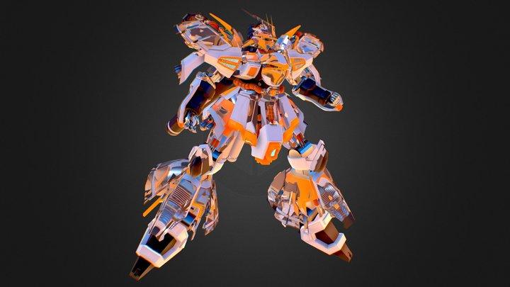 NEON SAZABI 3D Model