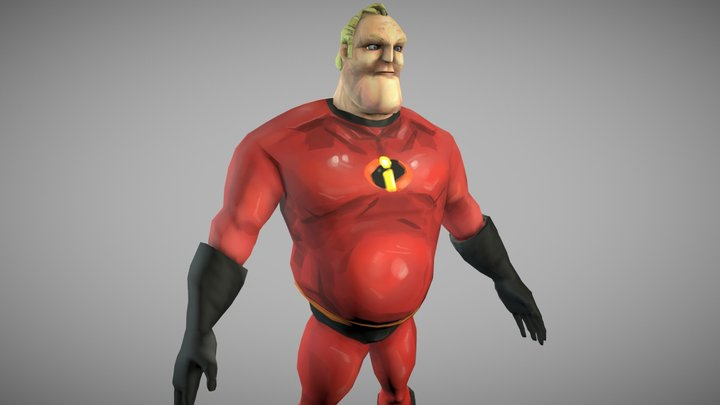 Mr. Incredible 3D Model