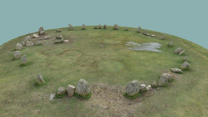 Castlerigg Stone Circle 3D Model