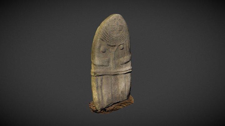 Statue-menhir dite Dame de Saint-Sernin 3D Model