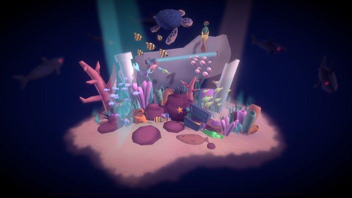 Seafloor Hangout 3D Model