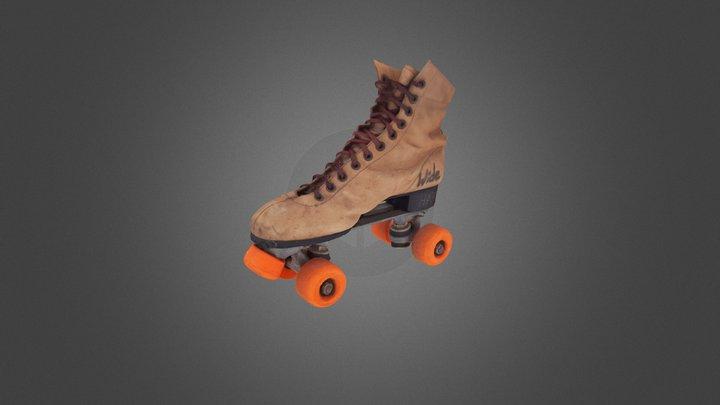 V 39153030710687 R Skate Test 3D Model