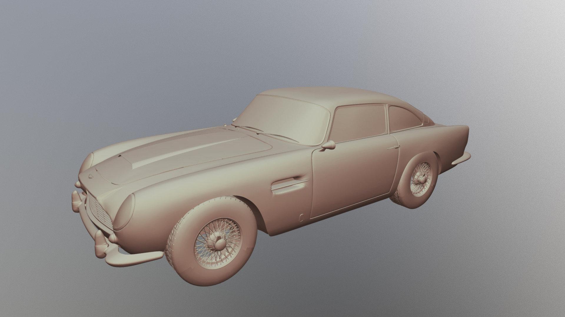 Aston Martin Db5 Download Free 3d Model By Jpo1703 Jpo1703 24de747