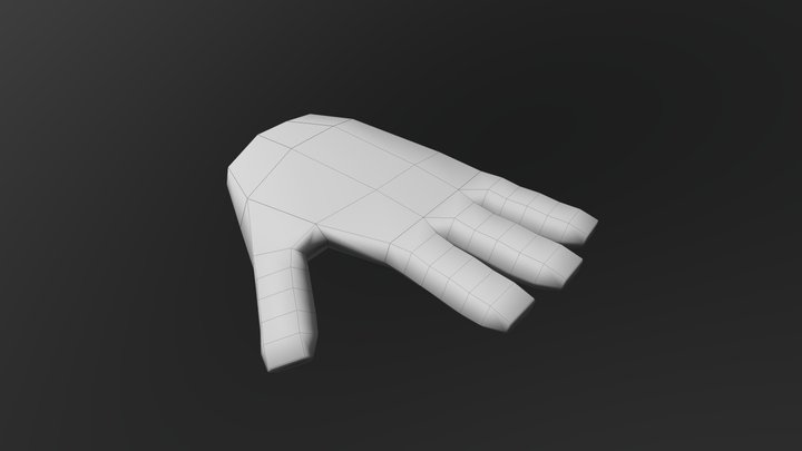 Mano Simpson 3D Model