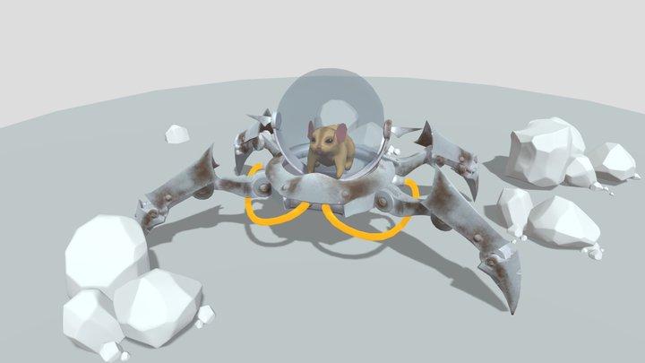 Scampers 3D Model