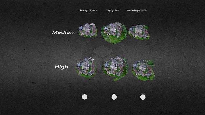 P1-Raw pic: RealityCapture_Zephyr_MetaShape 3D Model