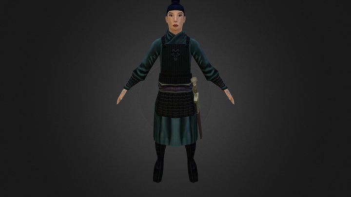 Mulan 3D Model