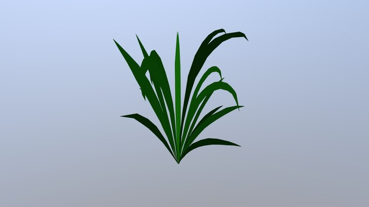 Grass | Low Poly - Game Ready 3D Model