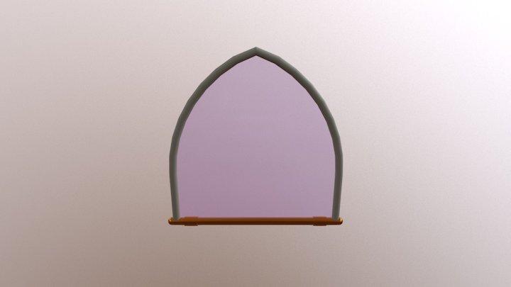 Glass Petal Structure 3D Model