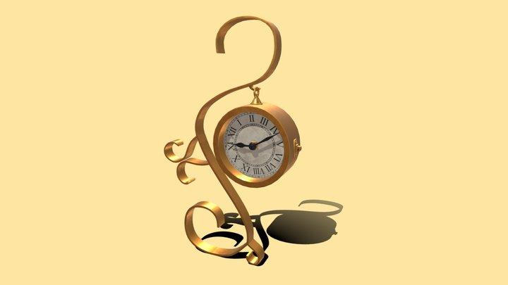 Interesting Clock (HP) 3D Model