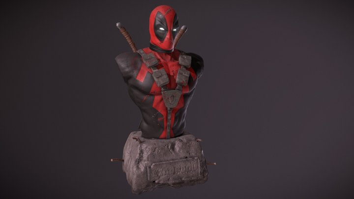 Deadpool - Fanart 3D Model