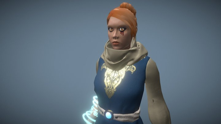 Leitha - Rage of Sorrow 3D Model