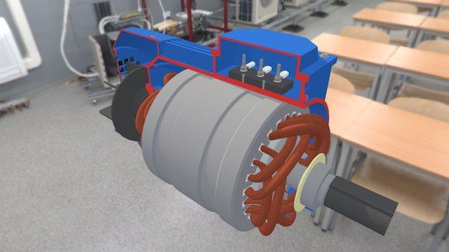 XLab.Motor 3D Model