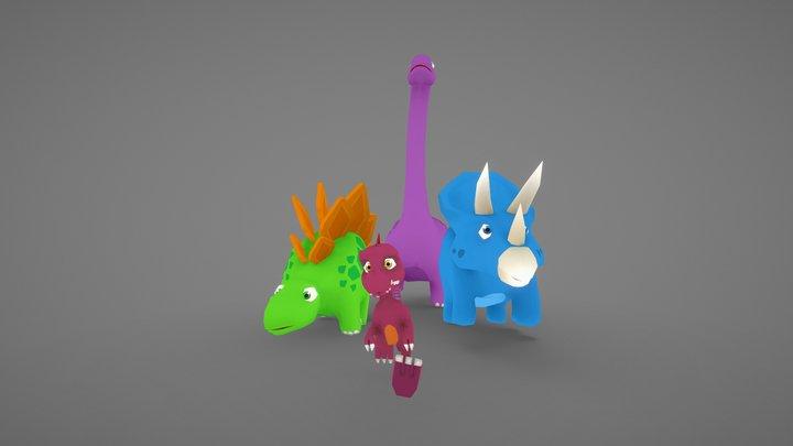 Dinotrailz Assets 3D Model
