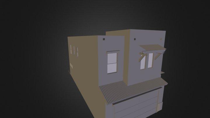 Sabino Terrace Model 3D Model