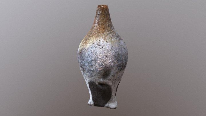 Flower Vase Tajimi style 3D Model