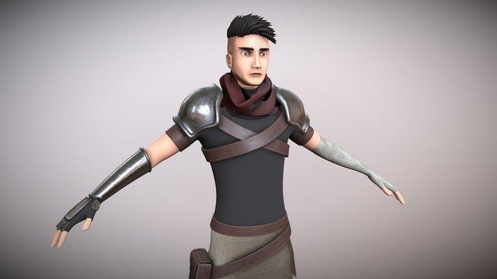 Final Character 3D Model