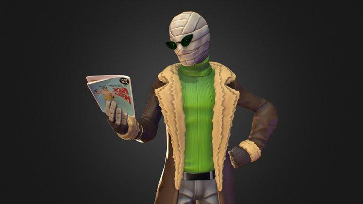 Doom Patrol - Negative Man 3D Model