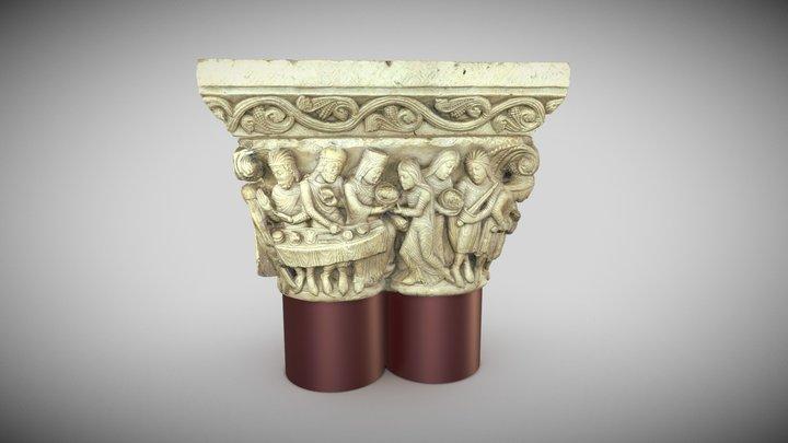 La Mort de Saint Jean-Baptiste 3D Model