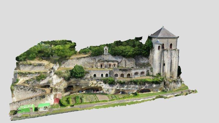 Abbaye de Marmoutier (Tours) 3D Model