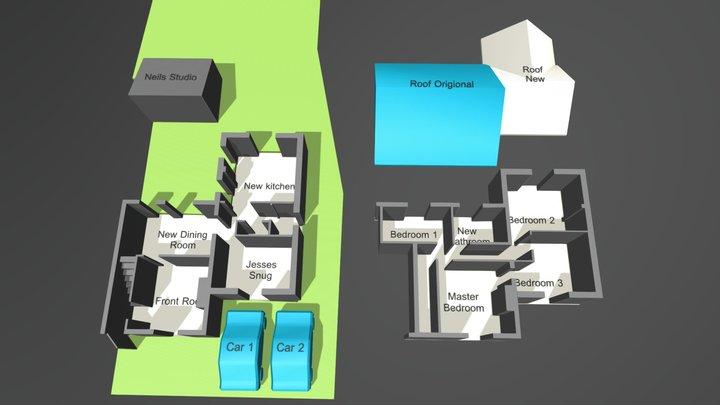 House Neils 3d plan 3D Model