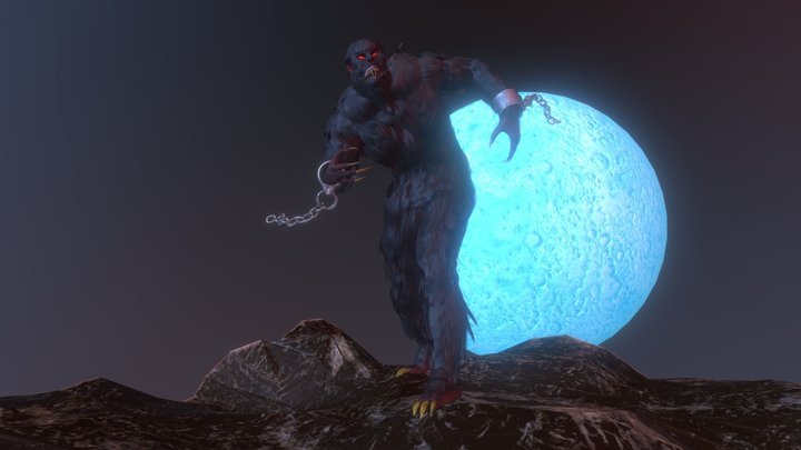 Werewolf Fairy Tales 3D Challenge 3D Model