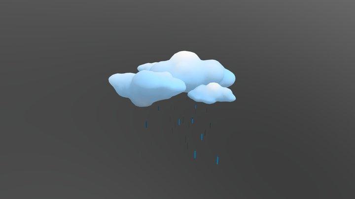 Rain 3D Model