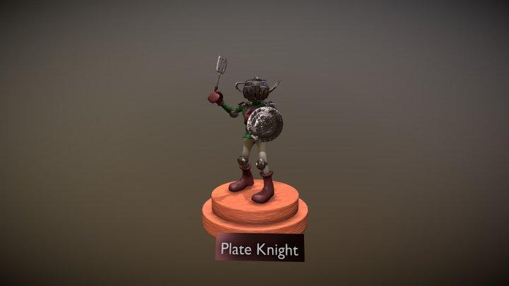 Plate Knight 3D Model