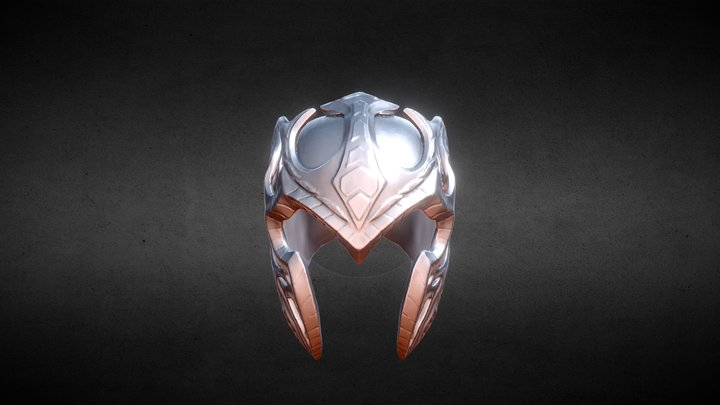 Mặt nạ STEEL - 3D crazy mask 3D Model