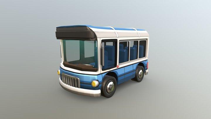 HCR2 Bus 3D Model