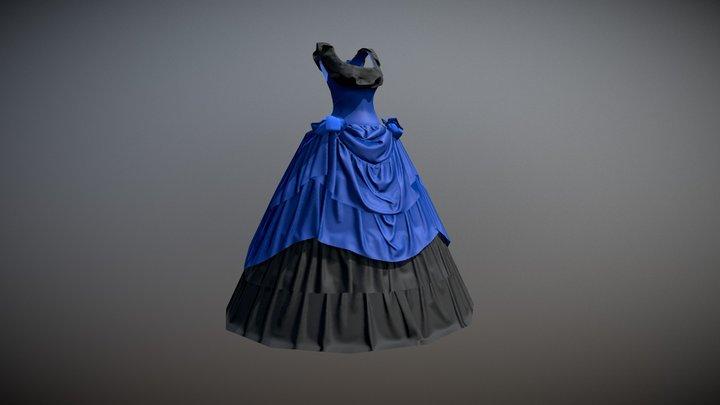 Victorian Cloth - 1 3D Model