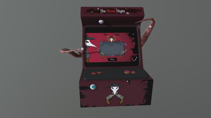 Infected Arcade Machine 3D Model