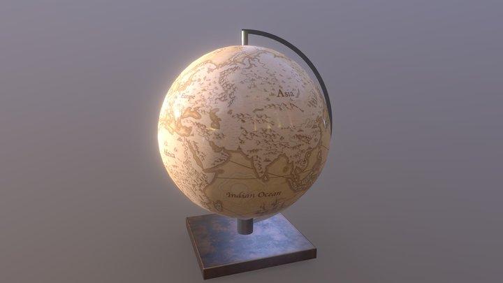 Globo Terraqueo 3D Model