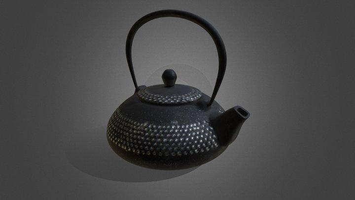 Japanese teapot 3D Model