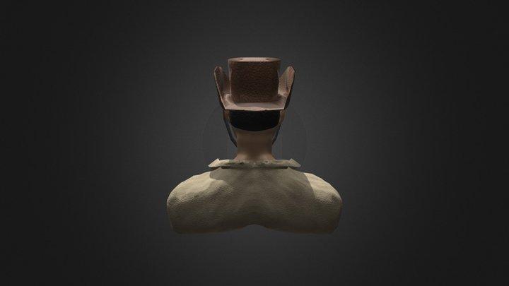 Cowboyback Low 3D Model